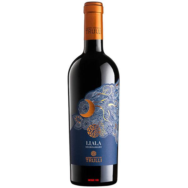 Rượu Vang Masseria Borgo Dei Trulli Liala Negroamaro Salento