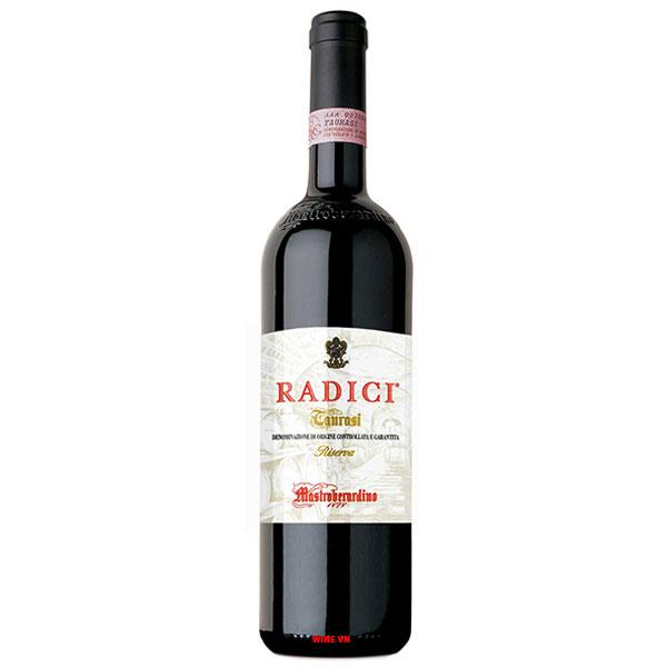 Rượu Vang Mastroberardino Radici Taurasi Riserva