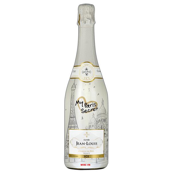 Rượu Vang Nổ Charles De Fère Cuvée Jean Louis My Paris Secret