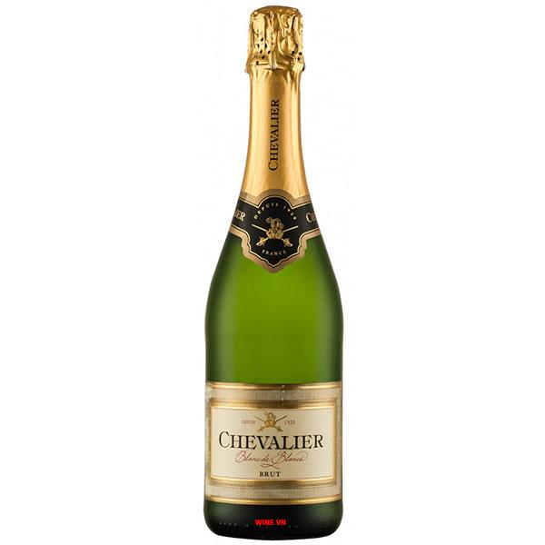 Rượu Vang Nổ Chevalier BrutBlanc De Blancs
