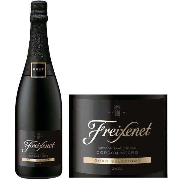 Rượu Vang Nổ Freixenet Cordon Negro Brut