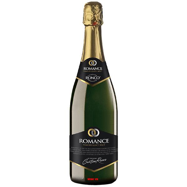 Rượu Vang Nổ Romance Spumante
