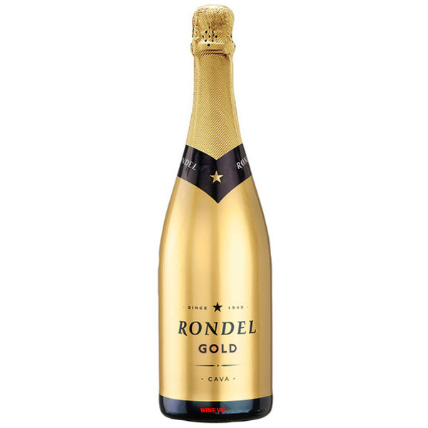 Rượu Vang Nổ Rondel Gold Brut Cava