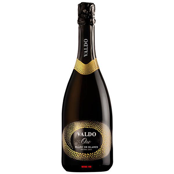 Rượu Vang Nổ Valdo Oro Blanc De Blancs