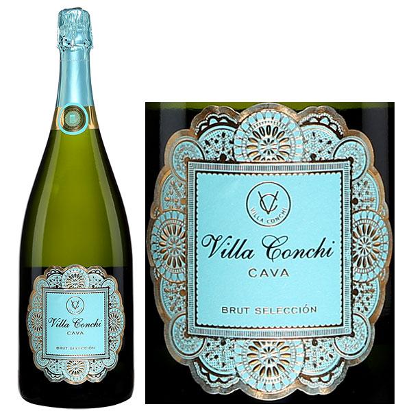 Rượu Vang Nổ Villa Conchi Cava Brut Seleccion