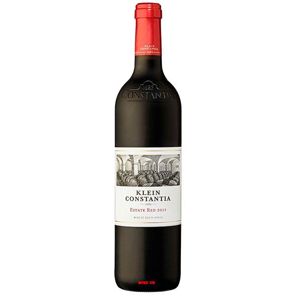 Rượu Vang Nam Phi Klein Constantia Estate Red