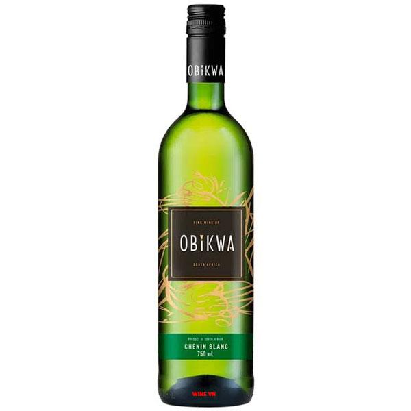 Rượu Vang Nam Phi Obikwa Chenin Blanc
