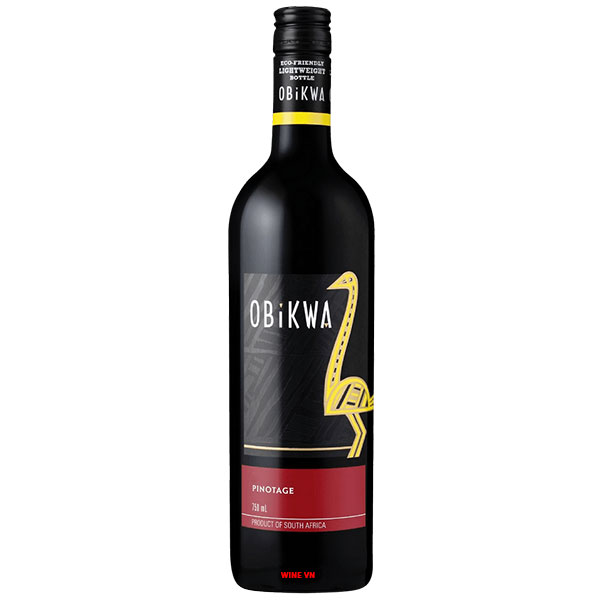 Rượu Vang Nam Phi Obikwa Pinotage