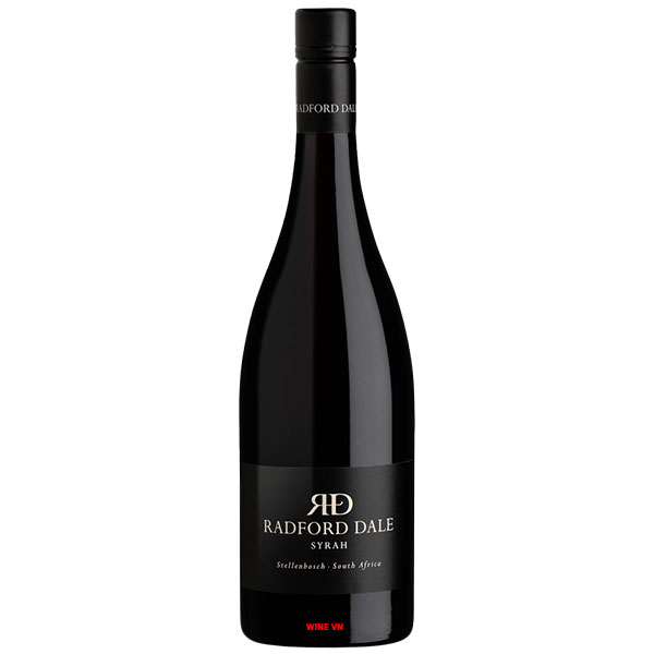 Rượu Vang Nam Phi Radford Dale Syrah