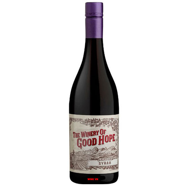 Rượu Vang Nam Phi The Winery of Good Hope Syrah