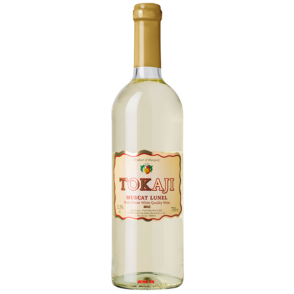 Rượu Vang Ngọt Tokaji Muscat Lunel