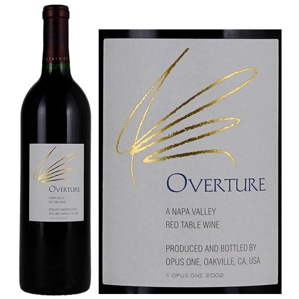 Rượu Vang Overture By Opus One