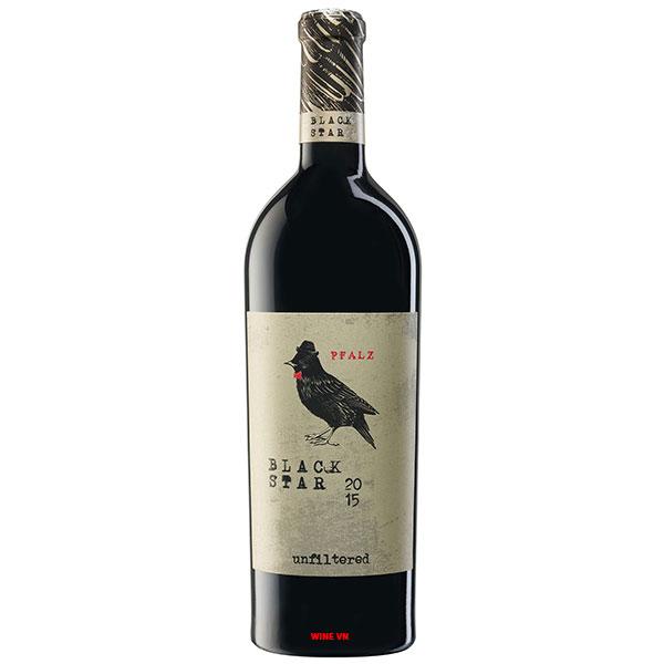 Rượu Vang Peter Mertes Pfalz Black Star Unfiltered