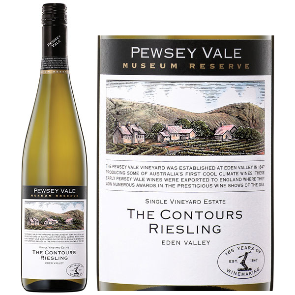 Rượu Vang Pewsey Vale The Contours Riesling