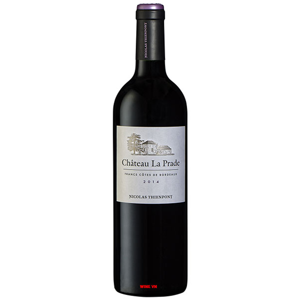 Rượu Vang Pháp Chateau La Prade Nicolas Thienpont