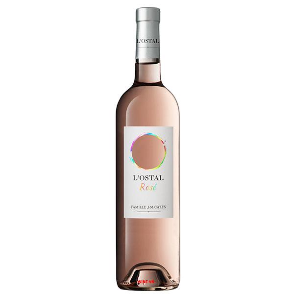 Rượu Vang Pháp L'Ostal Cazes Rose