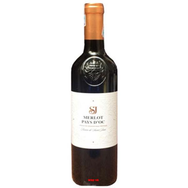 Rượu Vang Pháp SJ Merlot Pays D'OC