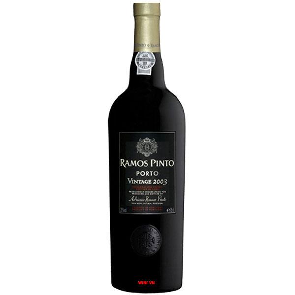 Rượu Vang Porto Ramos Pinto Vintage 2003