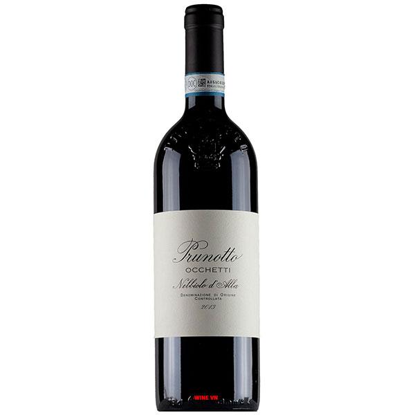 Rượu Vang Prunotto Occhetti Nebbiolo D'Alba