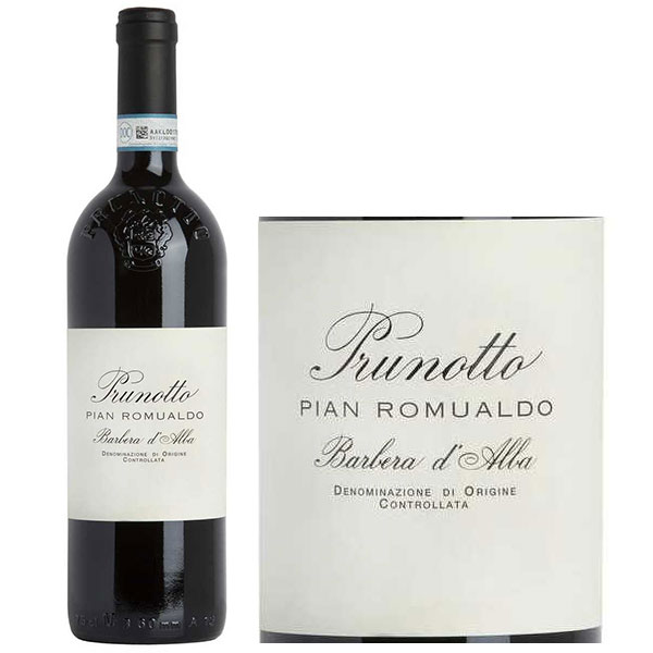 Rượu Vang Prunotto Pian Romualdo Barbera d'Alba