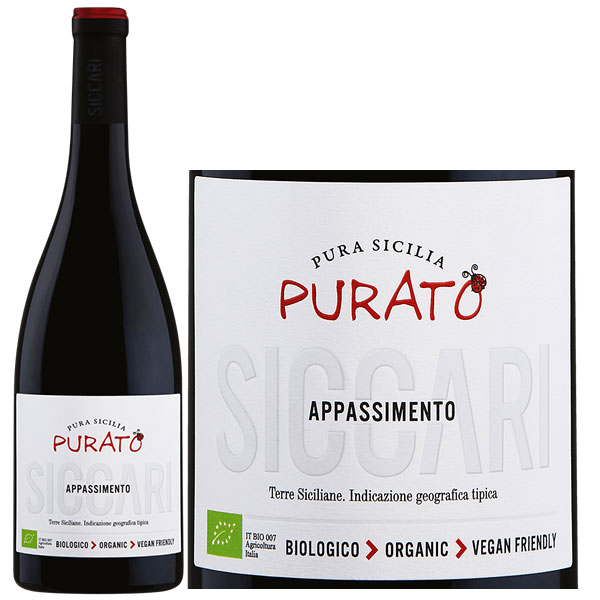 Rượu Vang Purato Sicari Appassimento Organic