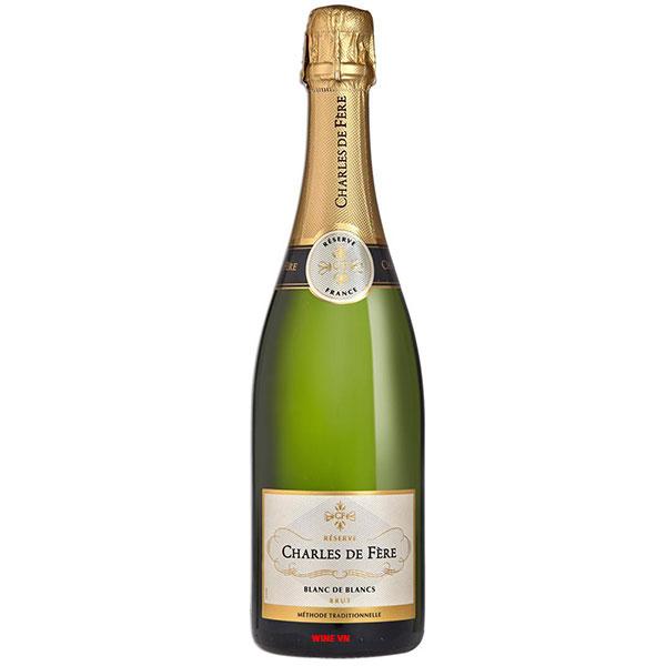 Rượu Vang Sủi Charles De Fère Réserve Blanc De Blancs