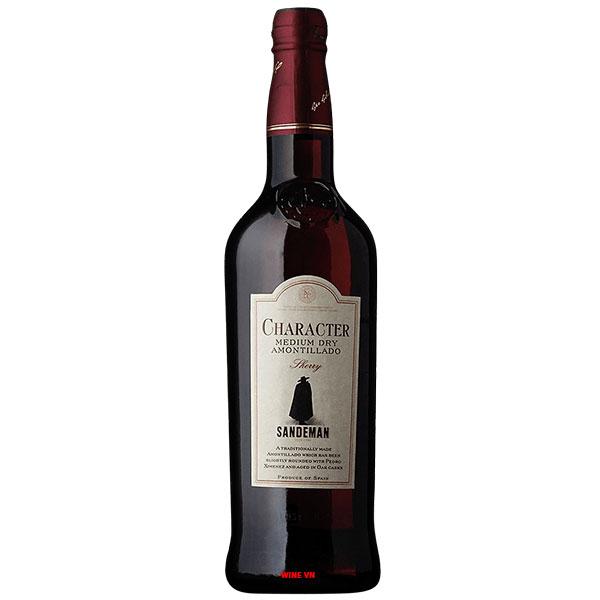 Rượu Vang Sandeman Character Medium Dry Amontillado