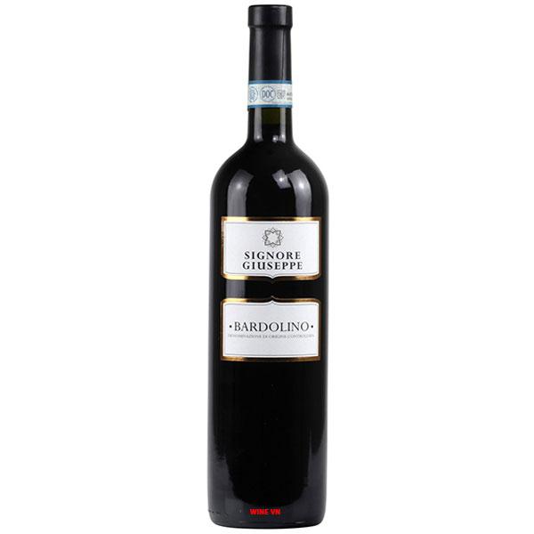 Rượu Vang Signore Giuseppe Bardolino