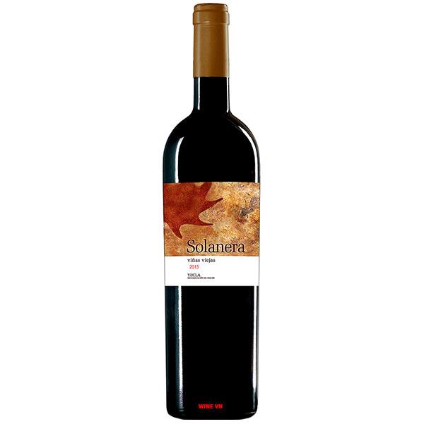 Rượu Vang Tây Ban Nha Castano Solanera Yecla