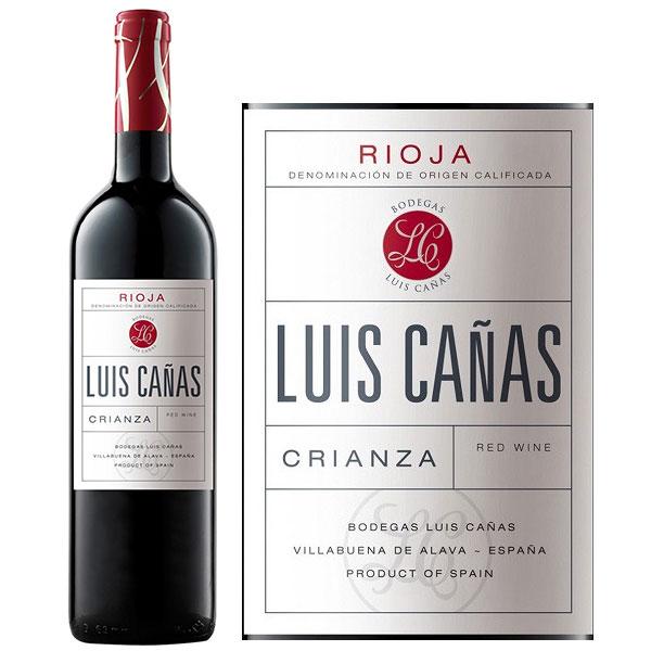 Rượu Vang Tây Ban Nha Luis Canas Crianza