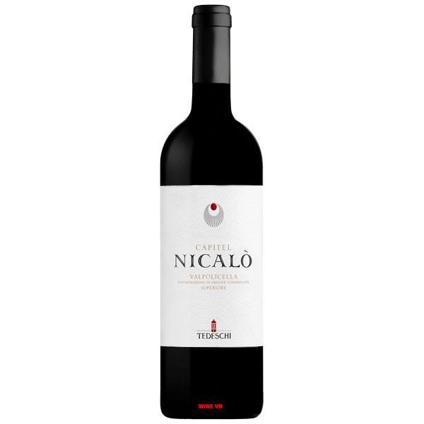 Rượu Vang Tedeschi Capitel Nicalò Valpolicella Superiore