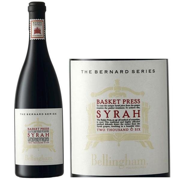 Rượu Vang The Bernard Series Basket Press Syrah