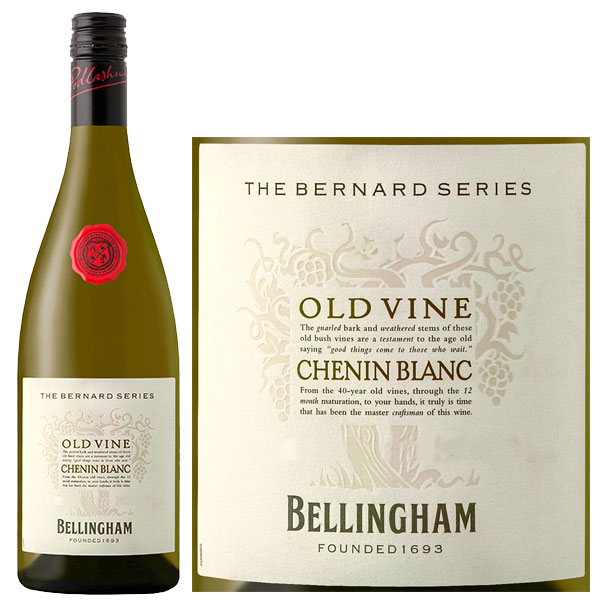 Rượu Vang The Bernard Series Old Vines Chenin Blanc