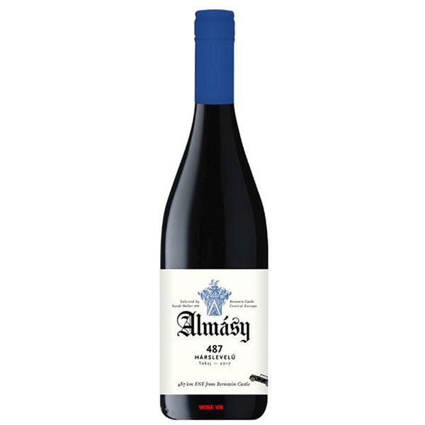 Rượu Vang Trắng Almásy 487 Harslevelü