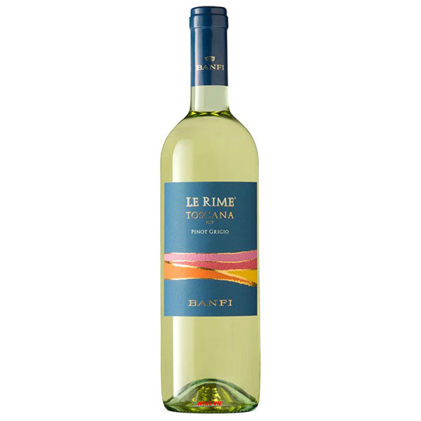 Rượu Vang Trắng Banfi Le Rime Toscana