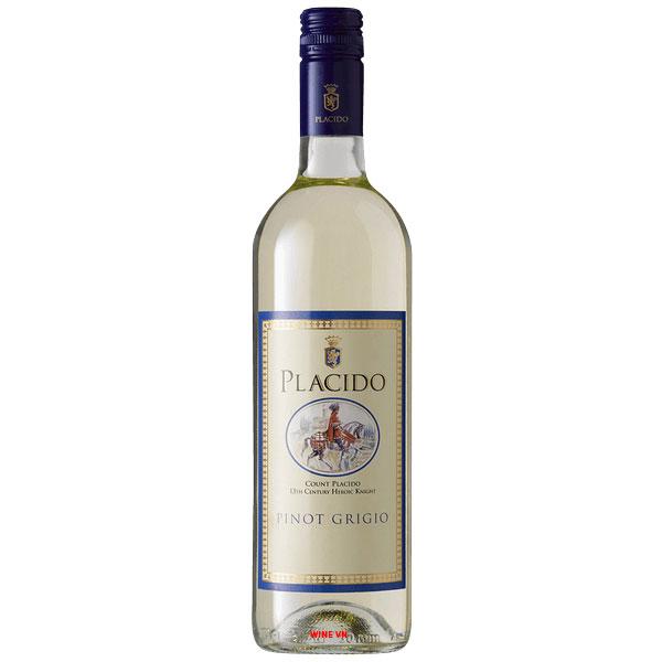 Rượu Vang Trắng Banfi Placido Pinot Grigio