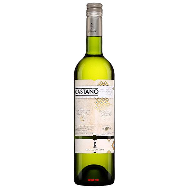 Rượu Vang Trắng Castano Chardonnay