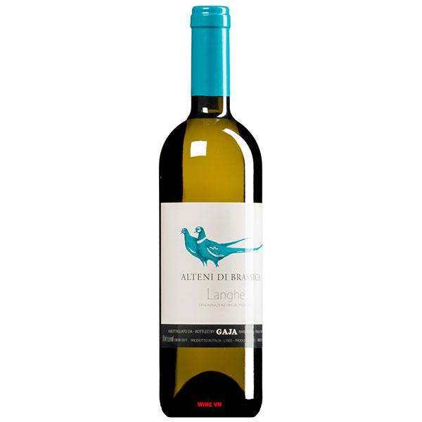 Rượu Vang Trắng Gaja Alteni Di Brassica Langhe