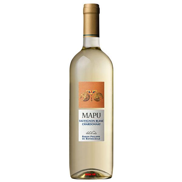 Rượu Vang Trắng Mapu Sauvignon Blanc - Chardonnay