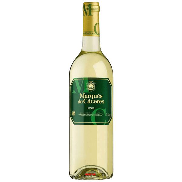 Rượu Vang Trắng Marques De Caceres Rioja
