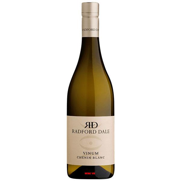 Rượu Vang Trắng Radford Dale Vinum Chenin Blanc