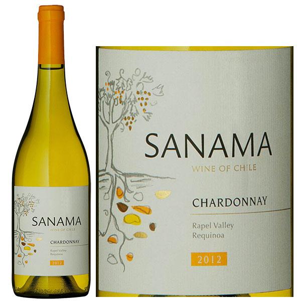 Rượu Vang Trắng Sanama Chardonnay