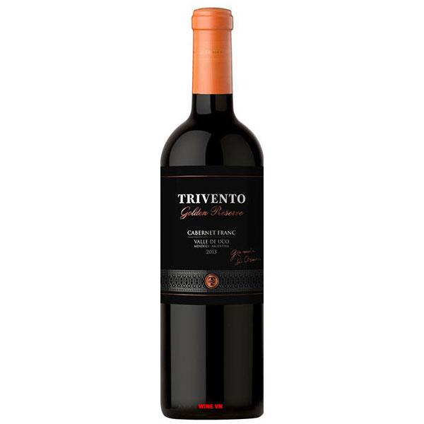 Rượu Vang Trivento GOLDEN RESERVE Cabernet Franc