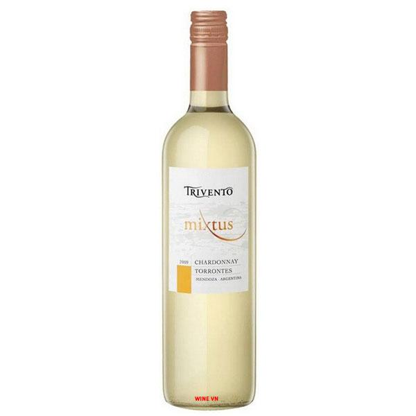 Rượu Vang Trivento Mixtus Chardonnay Torrontes