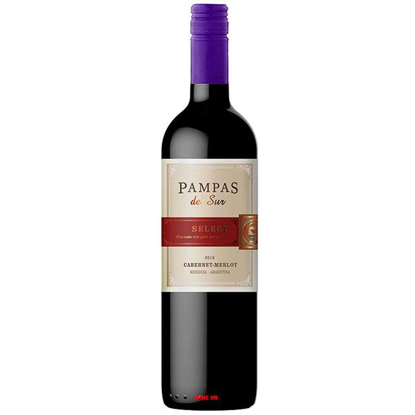 Rượu Vang Trivento Pampas Del Sur Select Cabernet Merlot