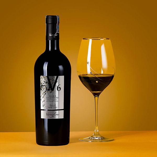 Rượu Vang V6 Salice Salentino Varvaglione