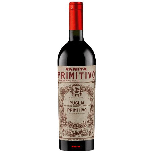 Rượu Vang Vanitá Primitivo Di Manduria
