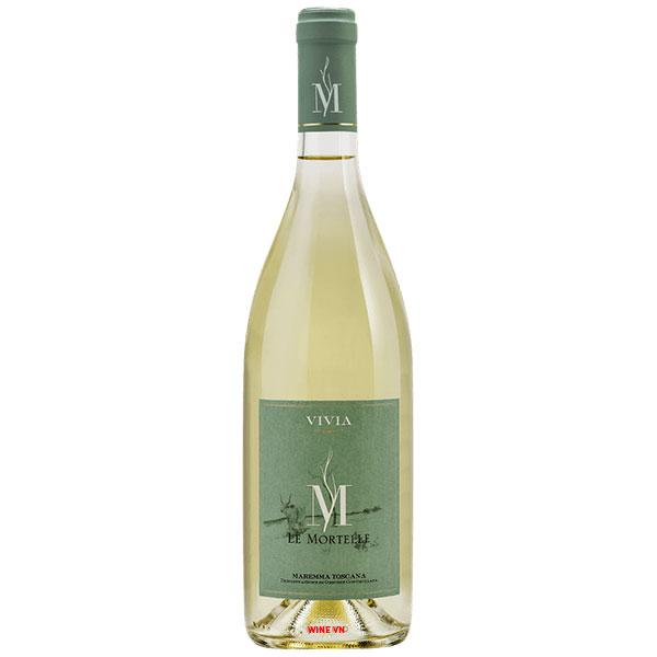 Rượu Vang Vivia M Le Mortelle Maremma