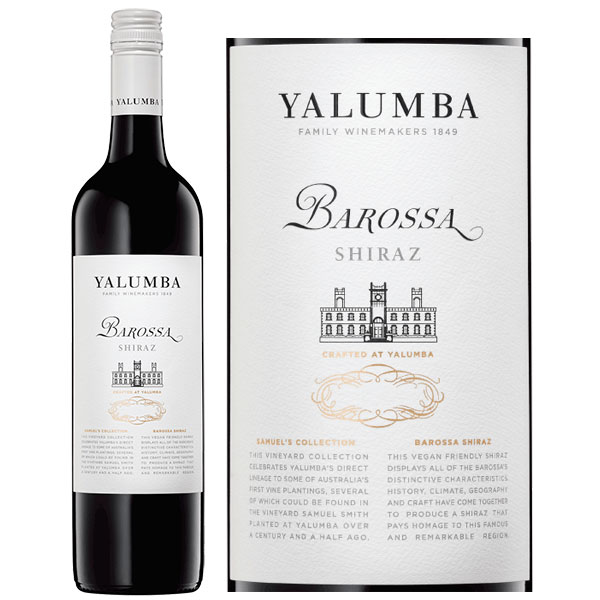 Rượu Vang Yalumba Samuel's Collection Barossa Shiraz