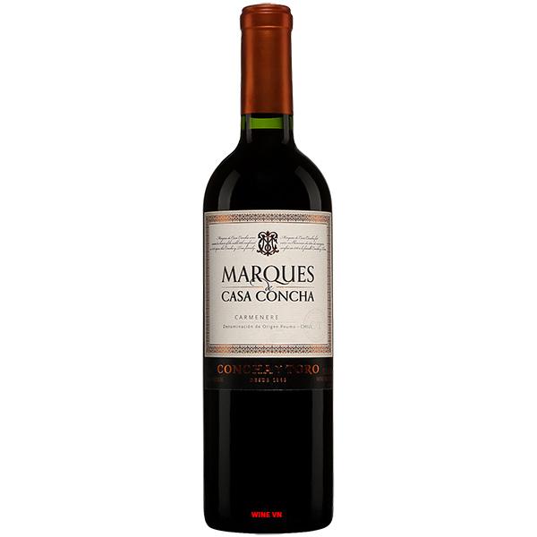 Rượu Vang Marques Casa Concha Carmenere